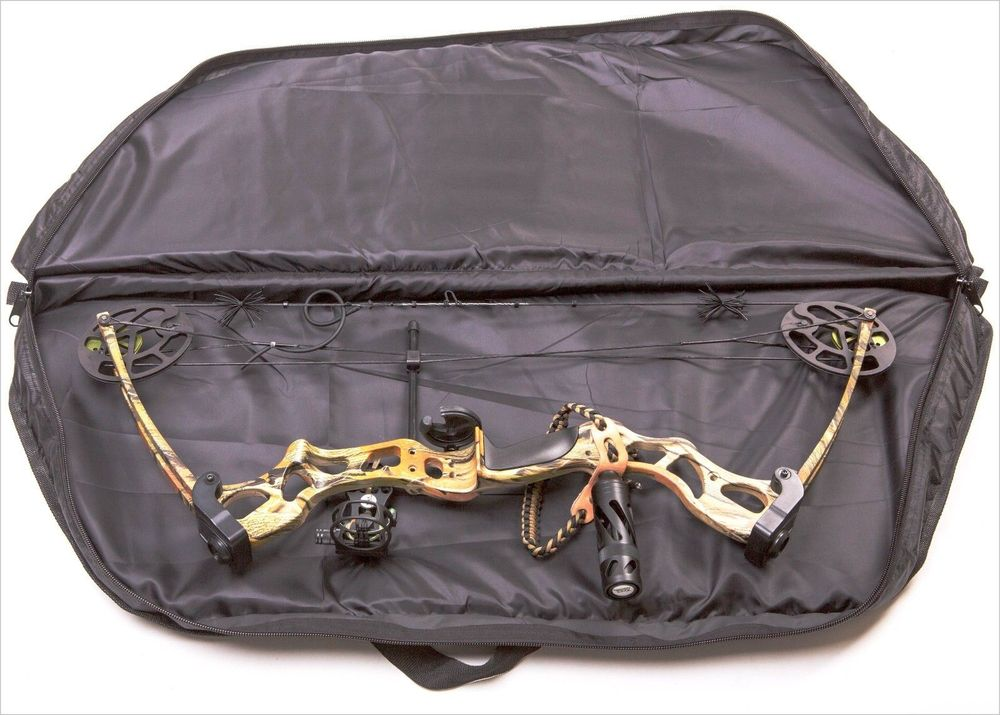 Bow And Arrow Bag : Deluxe apex bow bag for compound archery and hunting