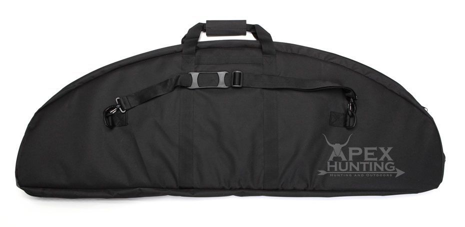 Bow And Arrow Bag : New padded bow bag black for compound w arrow holder