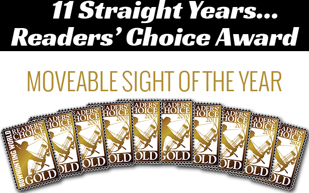 11 Straight years reader's choice award image