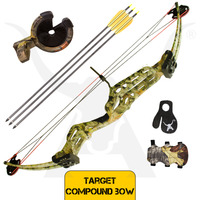 60lbs Target Compound Bow - Shoot Through