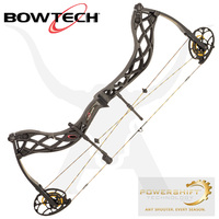 Carbon Icon Compound Bow - Black Ops - Bowtech