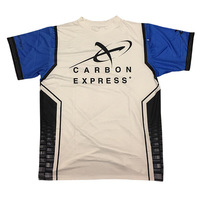 Carbon Express Shooter Shirt - White