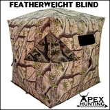 FEATHERWEIGHT CAMOUFLAGE HUB BLIND