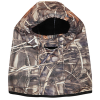 CAMO HEAD AND FACE MASK - GREAT FOR ARCHERY AND HUNTING - HOOD - GHILLIE SUIT