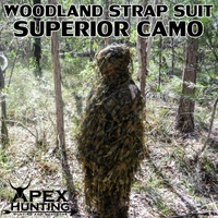 GHILLIE SUIT - WOODLAND STRAP (2014 MODEL)