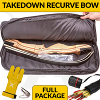 RECURVE PACKAGE - WOODEN TAKEDOWN