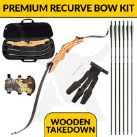 Wooden Takedown - Premium Recurve Bow Kit