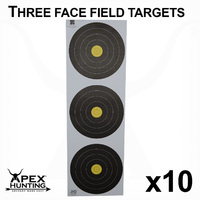 WORLD ARCHERY FIELD TARGET - 3 CENTRE-10 PACK