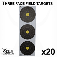 WORLD ARCHERY FIELD TARGET - 3 CENTRE-20 PACK