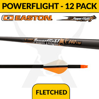 Easton Powerflight Fletched - 12 Pack