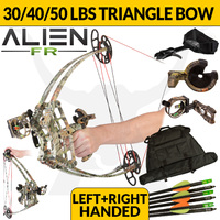 ALIEN COMPOUND BOW - CAMO - FIELD READY KIT