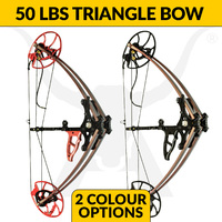 50lbs Triangle Compound Bow M109A