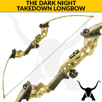 The Dark Night - 30lbs Takedown Longbow - Camo