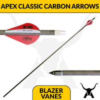 Apex Classic Carbon Arrow - Fletched with Blazer Vanes