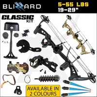 55lbs CLASSIC Apex Blizzard Compound Bow Kit Right Handed
