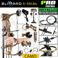 55lbs PRO Series  Apex Blizzard Compound Bow Kit Right Handed