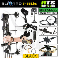 55lbs RTS Apex Blizzard Compound Bow Kit Right Handed