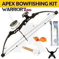 Apex Warrior X Bowfishing Kit - Compound Bow