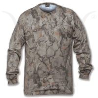 NATURAL GEAR - T-SHIRT - LONG SLEEVED - CAMO