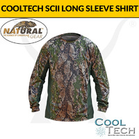 Cooltech SCII Long Sleeve Shirt - Natural Gear