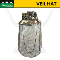 Ridgeline Cotton Veil Hat - Buffalo Camo