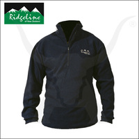 Micro Fleece Long Sleeve Shirt - Black - Ridgeline