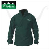 Micro Fleece Long Sleeve Shirt - Olive - Ridgeline