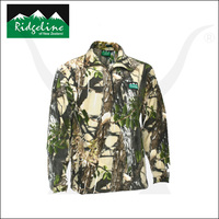 Micro Fleece Long Sleeve Shirt - Buffalo Camo - Ridgeline