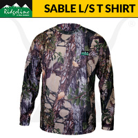 Ridgeline Sable Airflow Long Sleeve T Shirt - Buffalo Camo