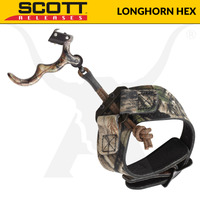 Longhorn Hex - Back Tension Release - Camo - Scott Releases