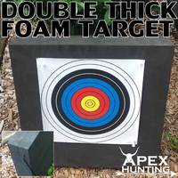 HIGH DENSITY FOAM TARGET - DOUBLE THICKNESS