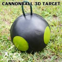 3D TARGET - CANNONBALL