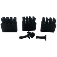 REPLACEMENT BRUSHES + SCREWS - BRUSH ARROW REST - 3 PACK