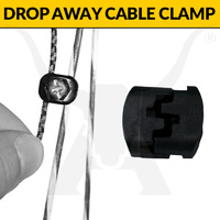 Drop Away Cable Clamp