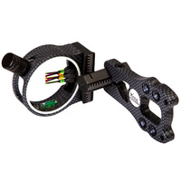 5-PIN FIBRE OPTIC BOW SIGHT - CARBON