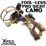 TOOL-LESS 5-PIN FIBRE OPTIC PRO BOW SIGHT - CAMO