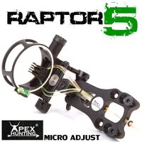 RAPTOR 5 - FIBRE OPTIC BOW SIGHT