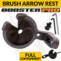 BRUSH ARROW REST - FULL CONTAINMENT - CARBON