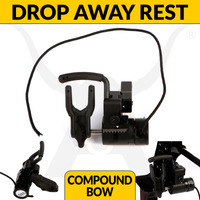DROP AWAY ARROW REST - ADVANCED - BLACK