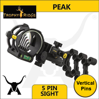 Trophy Ridge PEAK 5 Pin Sight