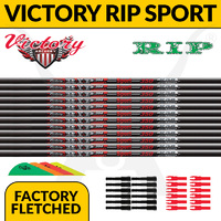 Victory RIP Sport Fletched Arrows - x12