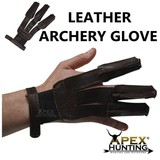 Apex 3-Finger Traditional Archery Glove