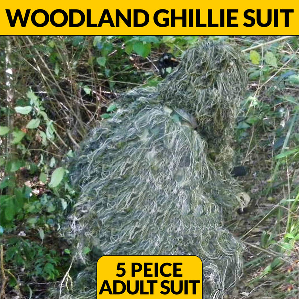 GHILLIE SUIT - WOODLAND