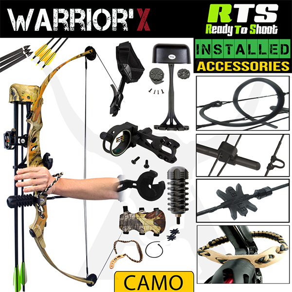 RTS 60Lbs Warrior'X Bow Kit