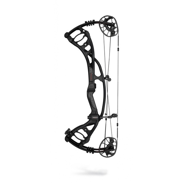 Hoyt Compound Bow Carbon RX-4 Redwrx Alpha RH 60#-(25-28) (Cam 2) 85% Let-Off BlackOut