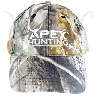 APEX ADJUSTABLE CAMO HAT - WHITE